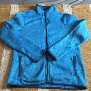 Champion zip up sweater
